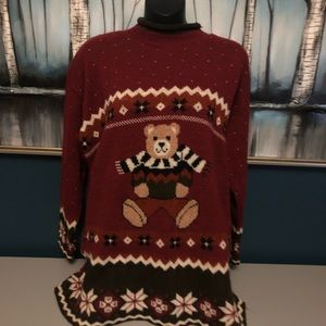 New addition Maternity Bear Sweater